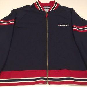 Tommy Hilfiger Logo Sweater zip up Large